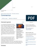 Coronavirus - Síntomas y Causas - Mayo Clinic