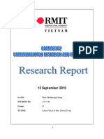 Research Report - s3117184
