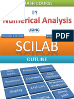 SCILAB for Numerical Analysis