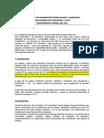 Contrato por Sistema de Citofonia Condominio Portal del Sol 12 06 15
