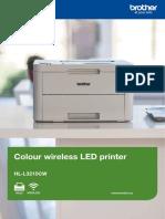 Colour wireless LED printer HL-L3210CW
