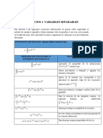Ejercicio 1 variables separables