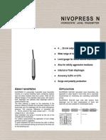 NivoPRESS - N 200 (Data Sheet)