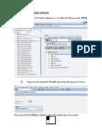 IW21 Generar avisos en SAP PM