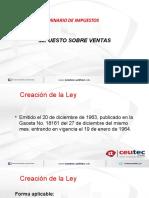 Semana 6 - Presentación - Ley del Impuesto sobre ventas  [Autoguardado]