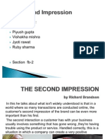 THE SECOND IMPRESSION