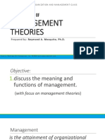 EVOLUTION-OF-MANAGEMENT-THEORIES-2ND-PPT
