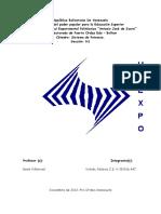 Características del Sistema Eléctrico (Trabajo 1 de Sistemas)