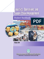 Logistics operations and supply chain management_XII