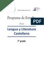 7° Lengua y Literatura Castellana 7° 25_11