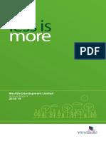 Westlife Development - 2019 Annual Report