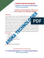 A Novel Multilevel DC AC Inverter Based on Three-Level Half Bridge With Voltage Vector Selecting Algorithm