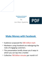 Make Money With Facebook - 6 Ways You Can Do It