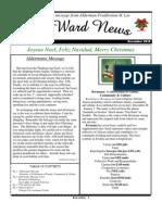 6th Ward Newsletter Dec. 2010