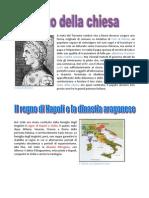 Scheda Stato della Chiesa e Regno di Napoli