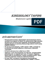 kinesiology taping PL