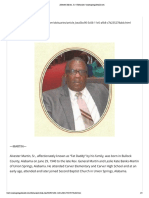 Alvester Martin, Sr. _ Obituaries _ unionspringsherald.com
