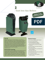 Peerless Cast 92 Cast Iron High Efficiency Boiler Brochure