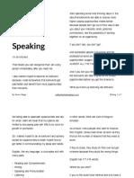 Writing Before Speaking