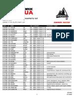 DH Pro Start List - Crankworx Rotorua 2020