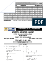 ACHIVER & LEADER MAJOR TEST-4 15-2-20 Solutions.pdf