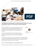 The Melbourne Declaration on Educational Goals for Young Australians_ What It is and Why It Needs Updating