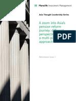 Manulife IM - A zoom into Asia pension reform journey (November_2019)