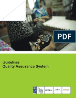 Consulting Guideline - Quality Assurance