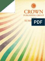 Crown Publishing Group Catalog - Summer 2011