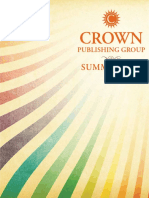 Crown Publishing Group Catalog - Summer 2011