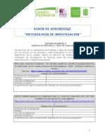 Formato Producto 2. Análisis de métodos y tipos de investigacion