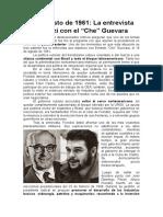 Encuentro Frondizi Guevara 1961