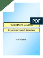 313356563 Traitement Des Eaux Usees