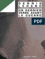 Lehane,Dennis--Un Dernier Verre Avant La Guerre