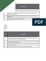 Audit format