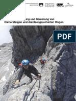 Klettersteigbau_Empfehlungen_ES