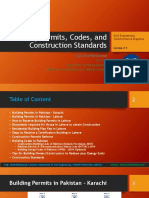 Lecture # 3_ Building Permits, Codes, and Construction Standards