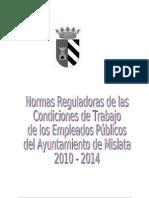 Acuerdo de Relaciones Laborales Del Ayto. de Mislata_10.12
