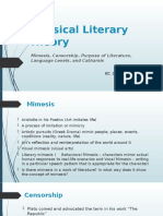Classical-Literary-Theory