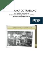 APOSTILA 1 - HISTÓRICO DE SEGURANÇA DO TRABALHO - FAETEC