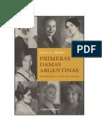Sierra Julio A - Primeras Damas Argentinas