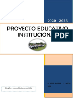 PEI -2020 - 2023 - ciro alegria