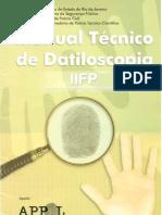 MANUAL TÉCNICO DE DATILOSCOPIA IIFP 2002