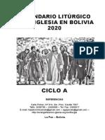 CALENDARIO-LITURGICO-2020-BOLIVIA
