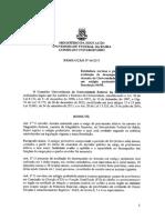 Resolução nº 04.2017 - CONSUNI