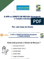 A APR e o DIREITO DE RECUSA.ppt