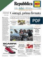 La Repubblica 3 Marzo 2020