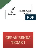 21 BENDA TEGAR I