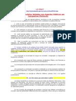 CONDUTAS VEDADES AOS AGENTES PUBLICOS - ROSANA