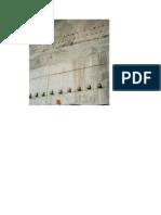 Muro anclado en la parte inferior